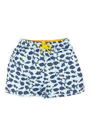 Blue Swim Shorts - Jacob Matthews