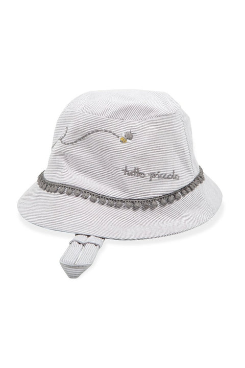 Bumble Bee Embroidered Sun Hat - Jacob Matthews