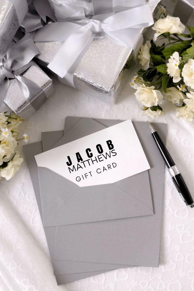 Gift Card - Jacob Matthews
