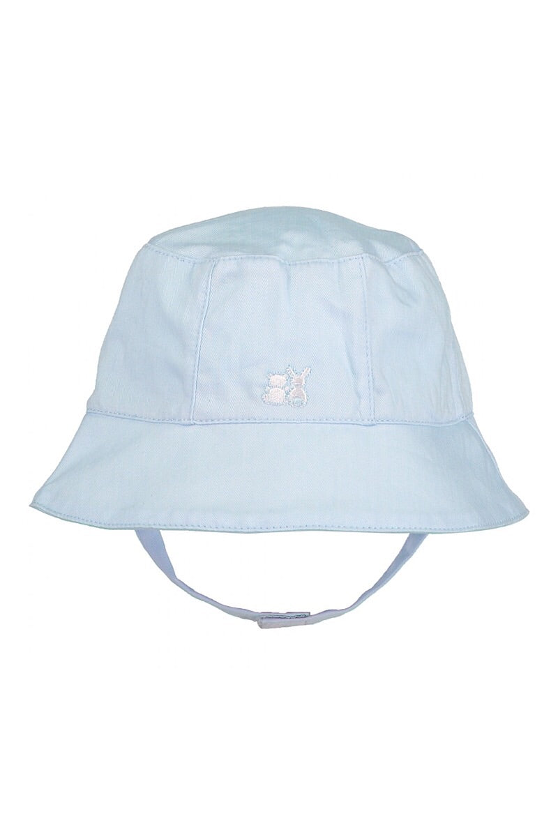 Emile Et Rose Baby Boys Pale Blue Fishermans Sun Hat