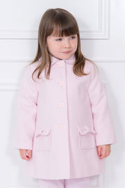 Pink Traditional Bow Coat