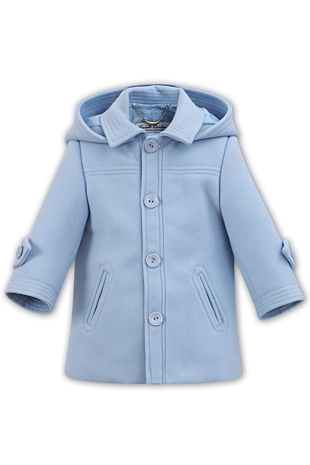 Blue Classic Traditional Coat