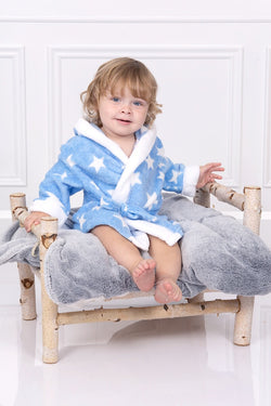 Blue Star Dressing Gown