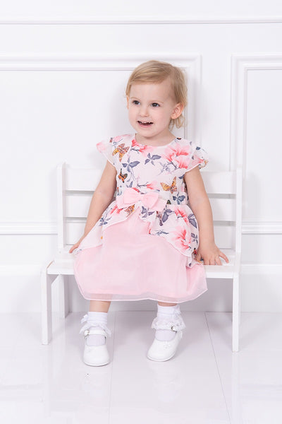 Mintini Butterfly Detail Bow Dress