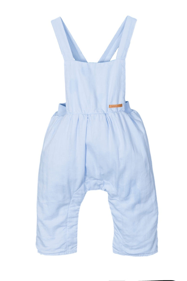 Blue Cross Strap Dungarees