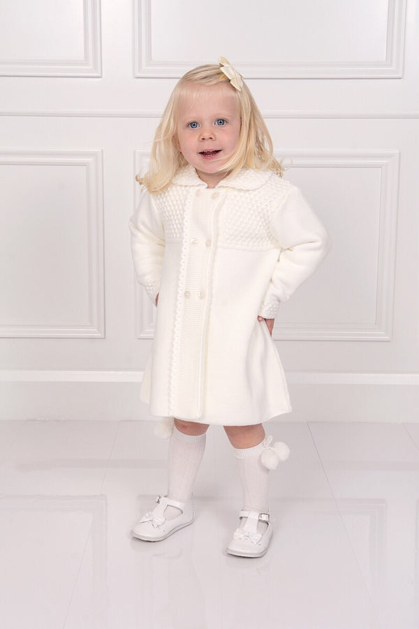 Granlei Ivory Knitted Coat