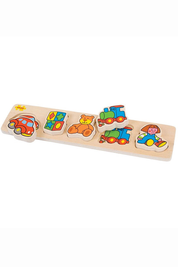 Chunky Lift And Match Puzzle - Toys