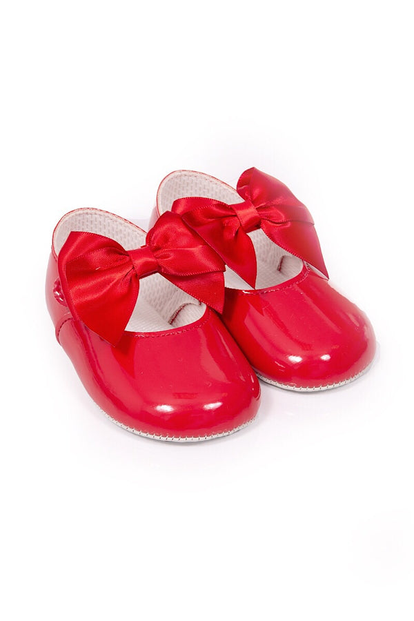 Red Large Bow Shoes
