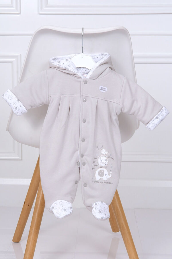 Little Elephant Grey Pramsuit