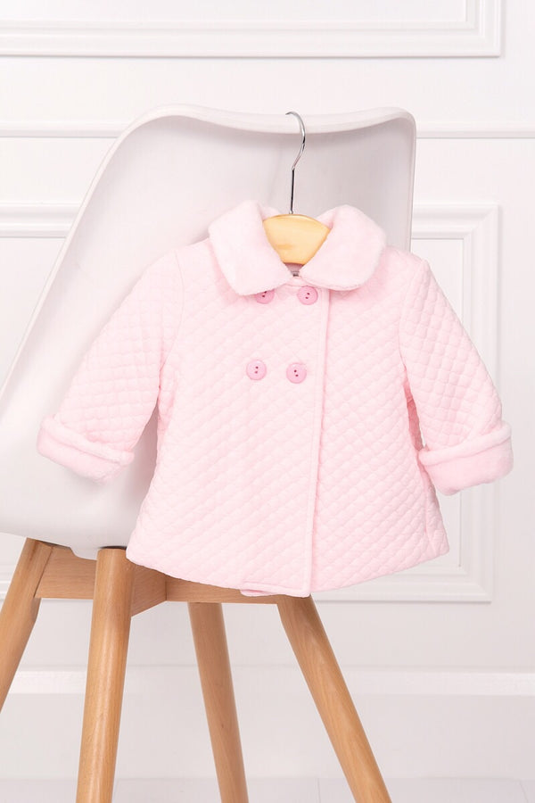 Spanish Pink Quilted Coat