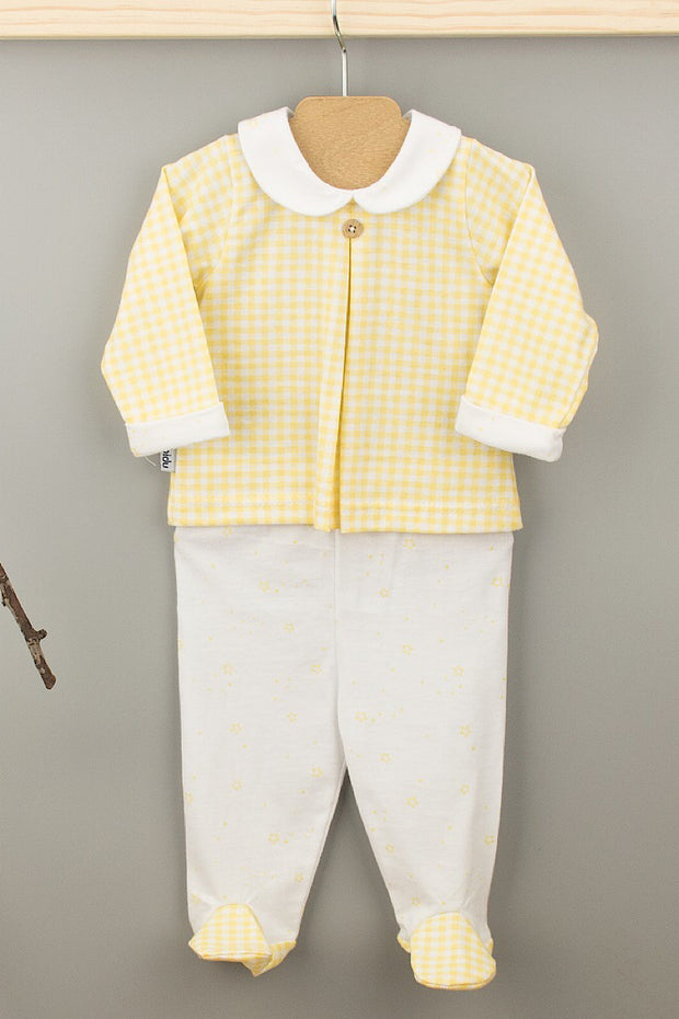 Yellow Check Outfit