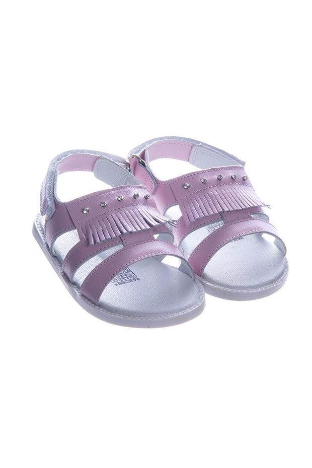 Pex Cleo Pink Hard Sole Diamante Sandals