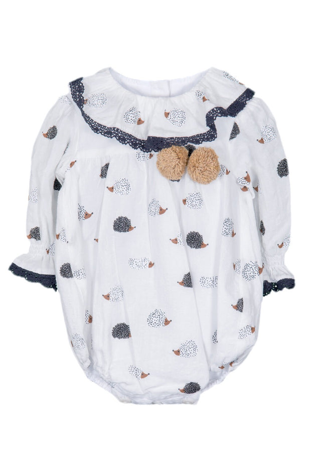 Hedgehog Design Romper