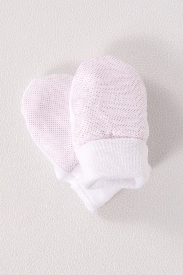 Laranjihna Pink Spotted Mittens