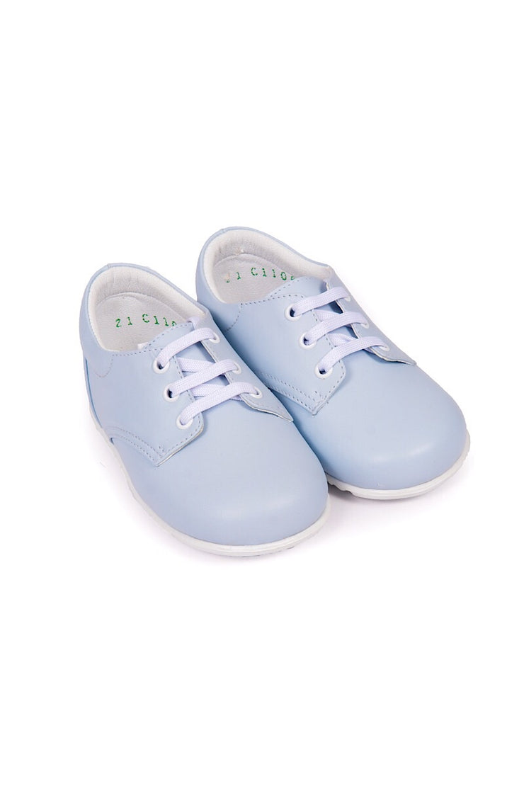 Pex Dustin Blue Smart Classic Lace Up Shoes