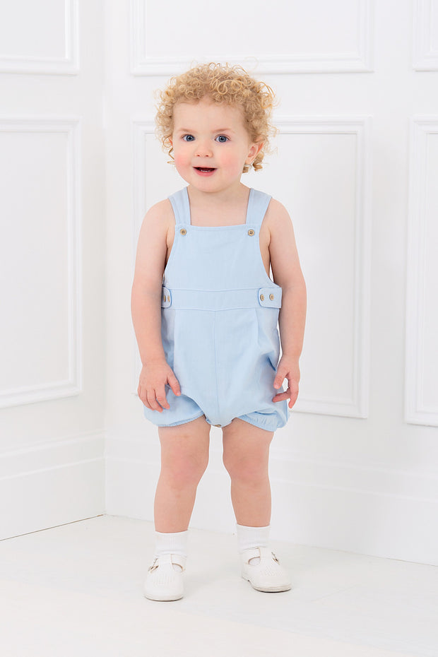 Blue Button Dungarees