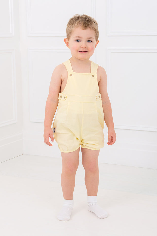 Yellow Button Dungarees