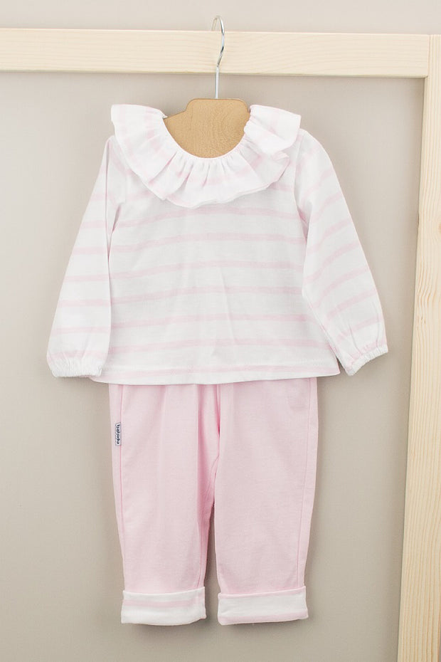 Pink Stripe Outfit