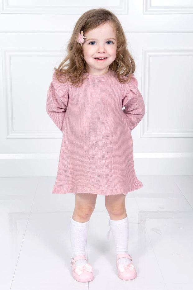 Rose Pink Frill Dress