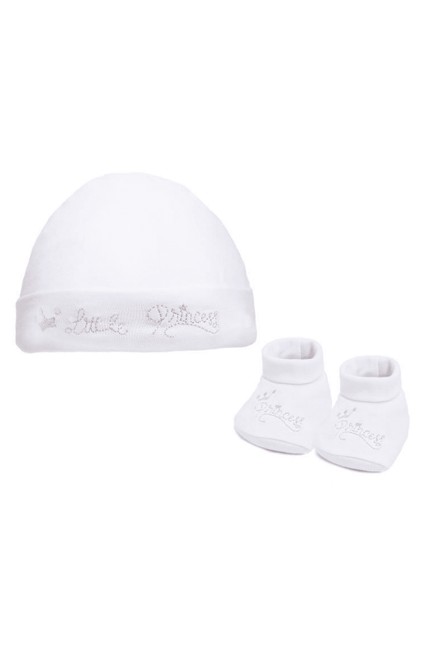 Little Princess Hat And Booties - Jacob Matthews