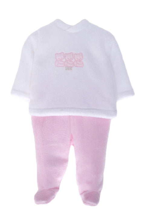 Pink And White Bear Outfit - Jacob Matthews