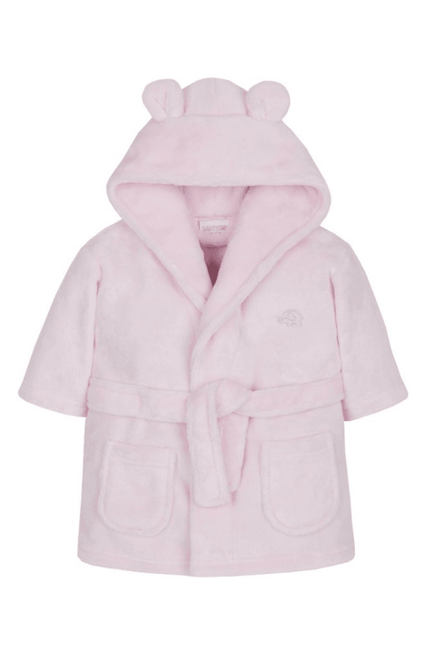 Pink Embroidered Dressing Gown - Jacob Matthews