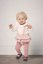Pink Frill Smocked Outfit - Jacob Matthews