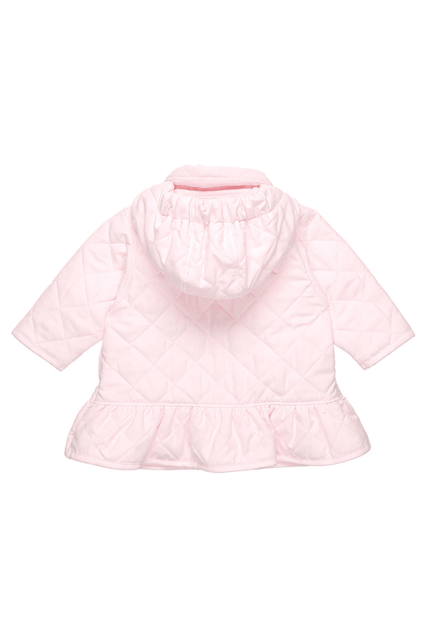 Pink Quilted Bow Jacket - Jacob Matthews