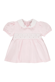 Pink Rosebud Embroidered Outfit - Jacob Matthews