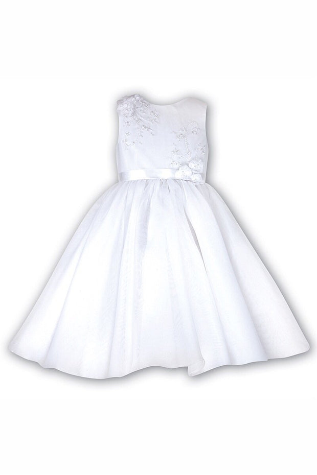 White Ceremonial Ballerina Dress - Jacob Matthews