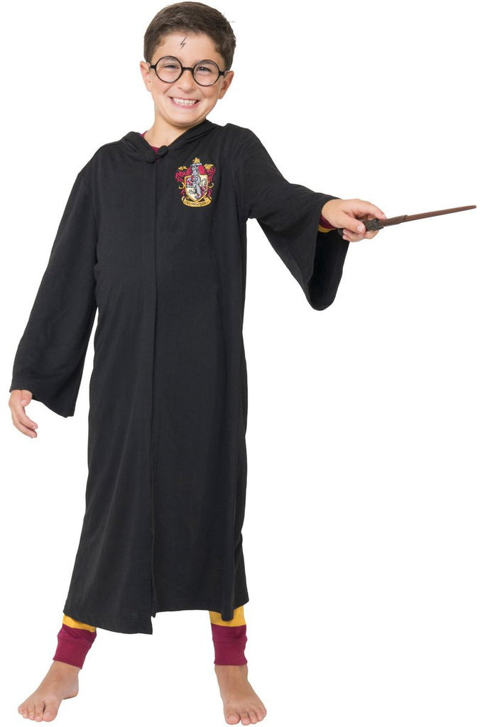 Harry Potter 'Hermione Gryffindor Crest' Cozy Costume Terry Robe