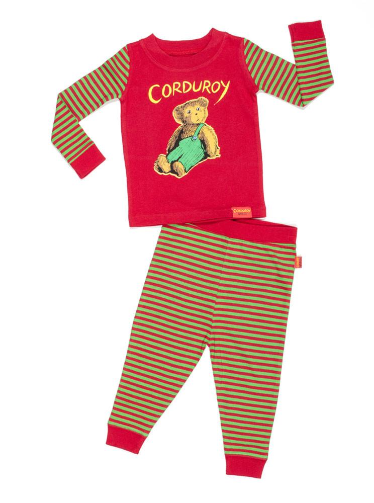 Corduroy Cotton Toddler Pajama Set