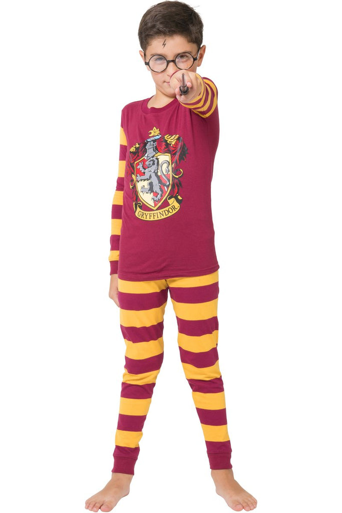 Harry Potter 'Gryffindor house crest stripe' Cotton Costume Pajama