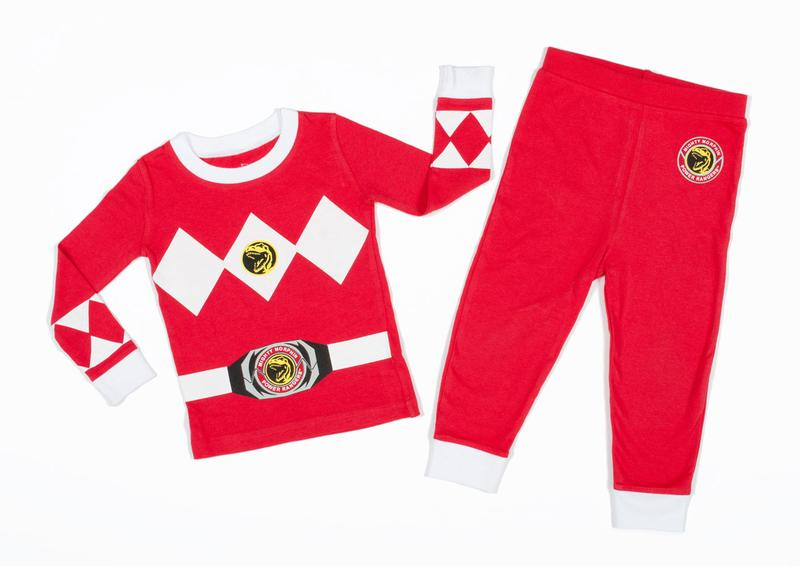 Power Rangers 'Mighty Morphin Red Ranger' Cotton Costume Pajama Set