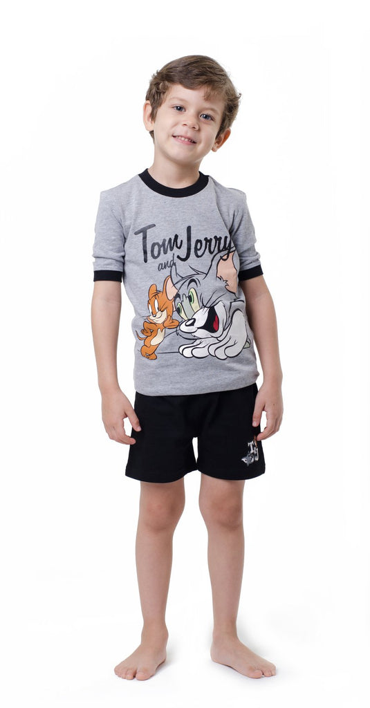 Tom & Jerry Cotton Boys Pajama Set