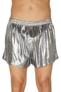 Intimo Men's Liquid Metallic Boxer Short Underwear