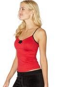 INTIMO Women's Knit Camisole with Medallion
