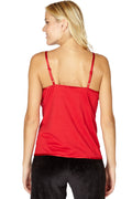 Women's Silk Cross Over Chemise Top Shirt
