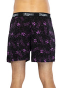 Intimo Mens Jimi Hendrix Cotton Jersey Boxers Shorts Underwear