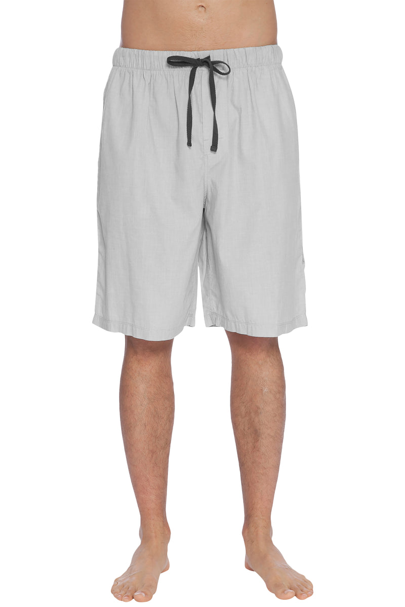 INTIMO Mens' Soft Bamboo Jam Sleep Shorts