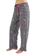 Intimo Women's Printed Cotton Knit Sleep and Lounge Pants