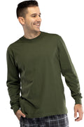 Intimo Mens Cotton Long Sleeve T-Shirt