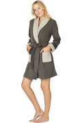 Intimo Womens Tonal Warmth Robe
