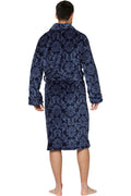 Intimo Men's Paisley Corel Robe