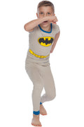 DC Comics Boys Superman Superhero Cotton Costume Pajama Set