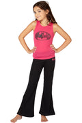 DC Comics 'Batman Batgirl Superhero Americana' Yoga Pajama Set