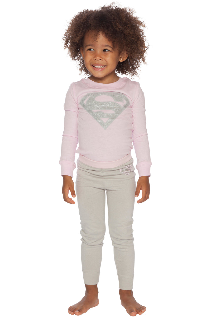 L/S Supergirl Tight Fit Set