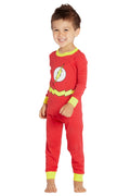 DC Comics Infant 'Flash Superhero Justice League' Cotton Costume Pajama Set