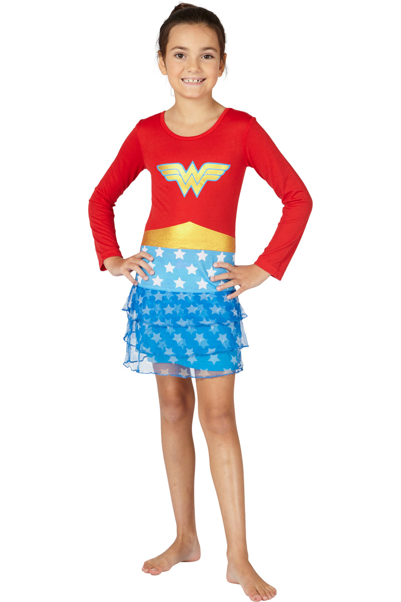 DC Comics 3 Tier Wonder Woman Costume Nightgown