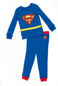 DC Comics Superman 'Cast of Characters' Cotton Boys Pajama Set